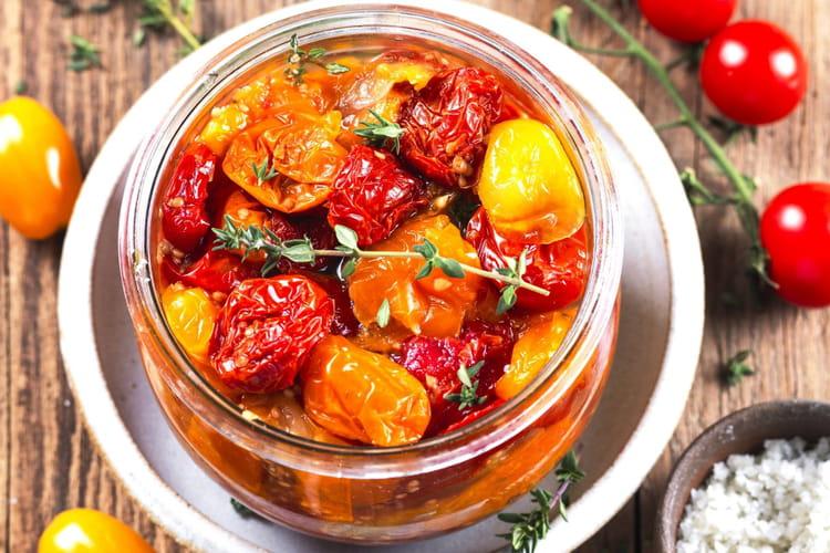 Tomates cerises lactofermentées au Sel de Guérande Le Guérandais
