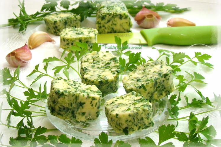Recette de beurre persill l 39 ail la recette facile - Beurre persille thermomix ...