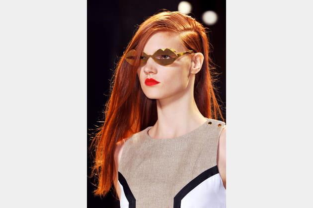 Les lunettes bouche de Jean Charles de Castelbajac