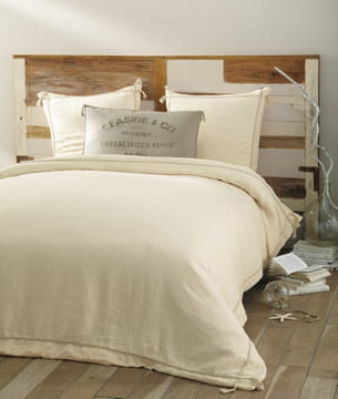 Linge de lit seaside de maisons du monde - Maison du monde parure de lit ...