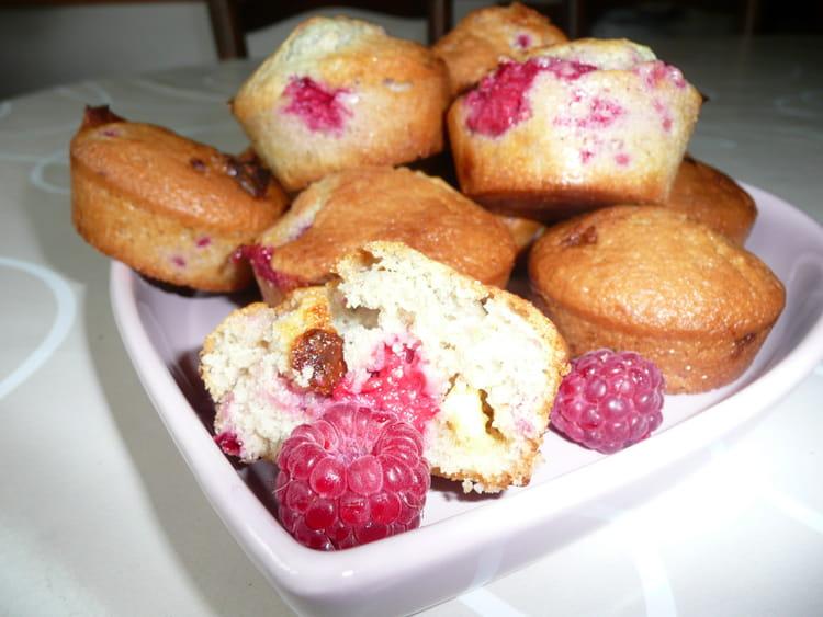 Recette De Muffins Aux Framboises Et Chocolat Blanc La Recette Facile