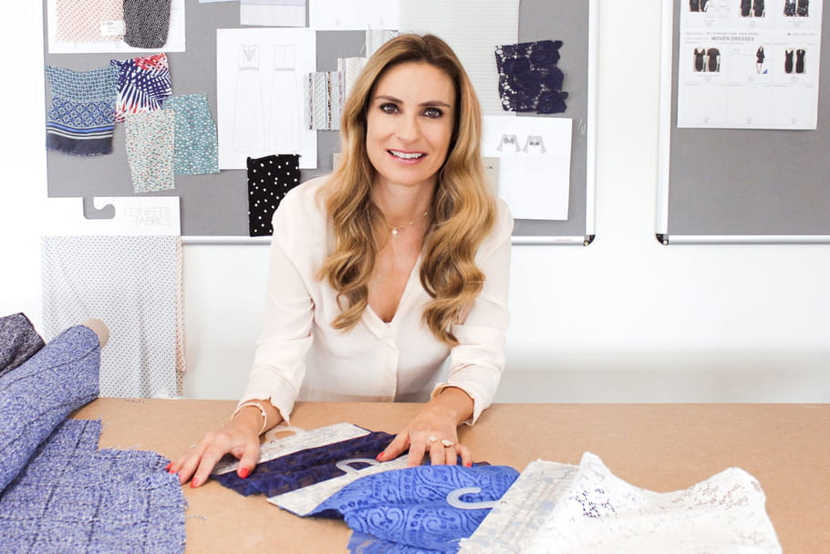 Qui est Cécile Reinaud, la créatrice qui habille Kate Middleton   7768471b6608