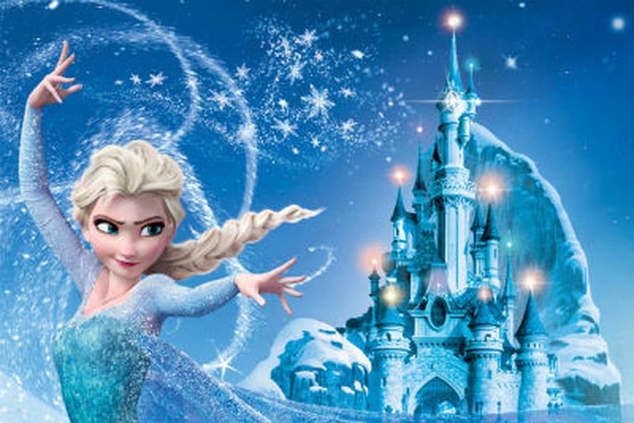 Portrait d'Elsa, héroïne de la Reine des Neiges par Walt Disney