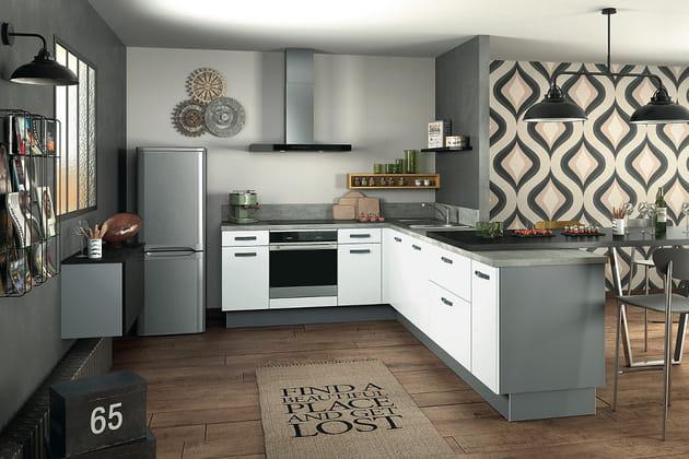 Cuisine design mezzo de socoo 39 c for Cuisine epuree design