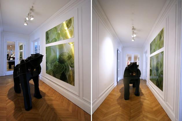 Un couloir majestueux