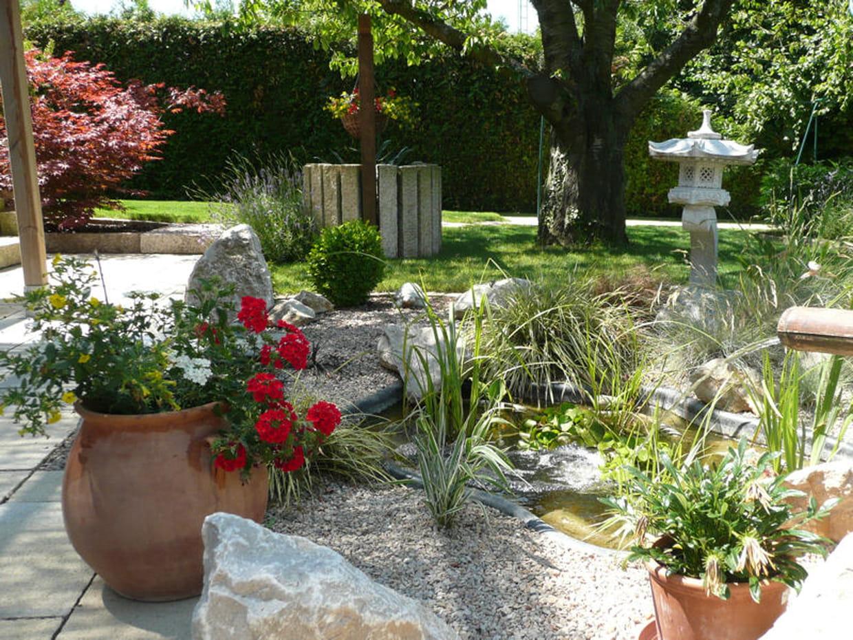 Un jardin fleuri for Jardin fleuri lyon 9