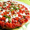 tarte aux tomates cerises et feta isabelle bonneau