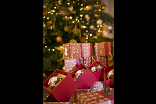 Le sapin de Noël du Peninsula Hotel Paris