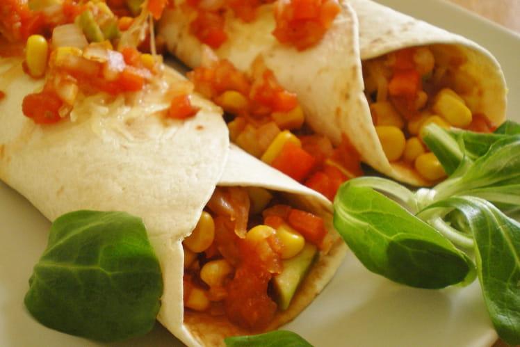 Enchiladas végétariennes