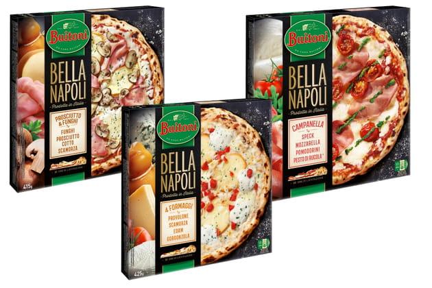 Les pizzas surgelées de Buitoni