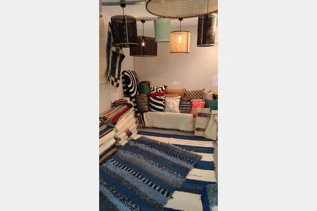 Les tapis en coton d'Unum loves Jinzu