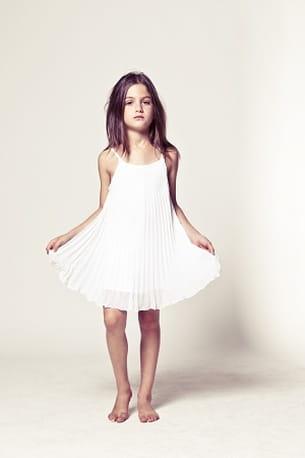 robe blanche ikks