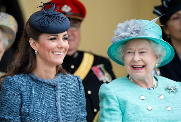 Kate Middleton et la reine, complices