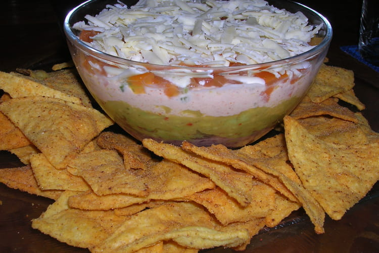 Mexican Dip et guacamole