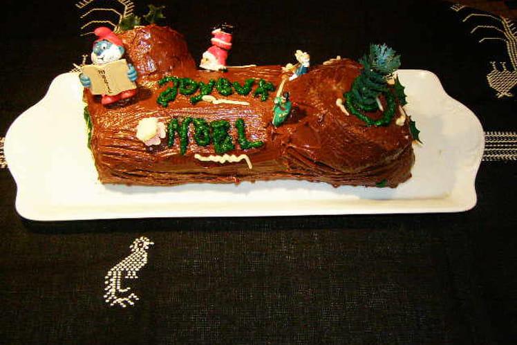 Bûche de Noël sans beurre
