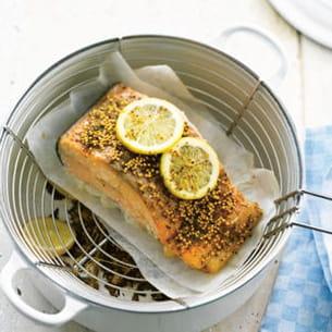saumon fumé en cocotte