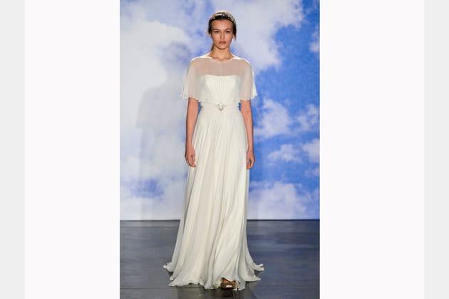 La robe cape de jenny packham for Jenny packham robe de mariage de saule