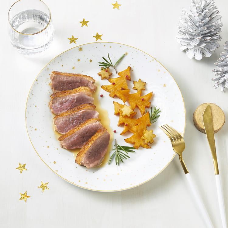 Recette de filet de canard bio nature de france sauce - Cuisiner un filet de canard ...
