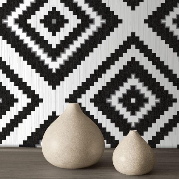 12 papiers peints motifs tendance. Black Bedroom Furniture Sets. Home Design Ideas