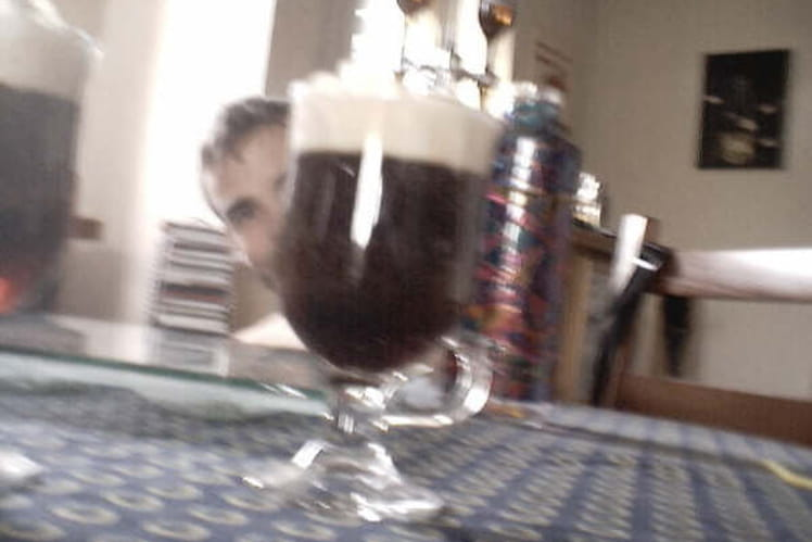 Irish coffee maison