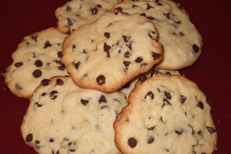 Cookies maison aux pépites de chocolat