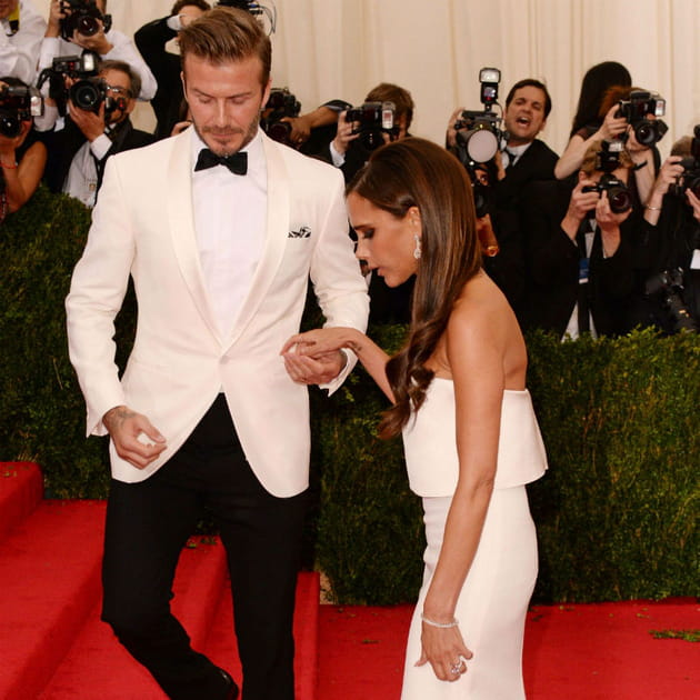 David et Victoria Beckham Met Ball 2014