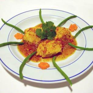 thon curry moutarde à la mauricienne