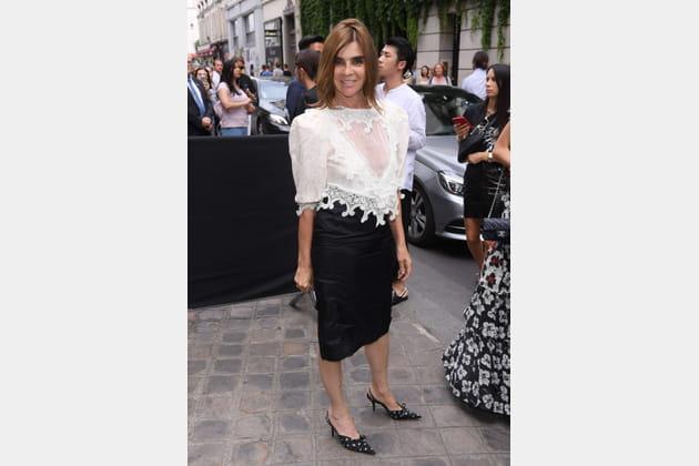 Carine Roitfeld chez Givenchy