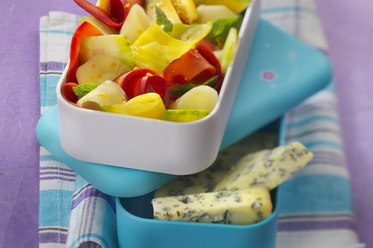 Salade de legumes anciens a la Fourme d'Ambert