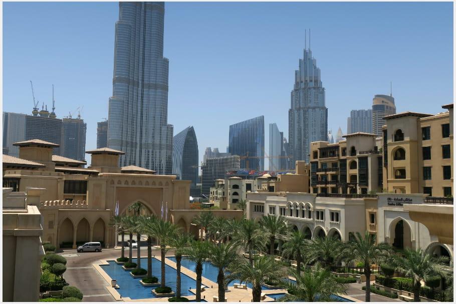 Le quartier Downtown Dubaï