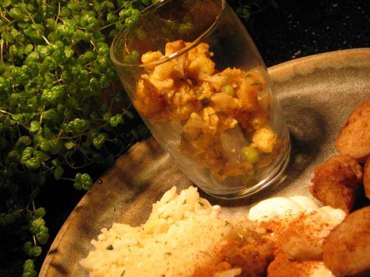 Recette De Chou Fleur Au Curry Et Riz Au Citron La Recette Facile