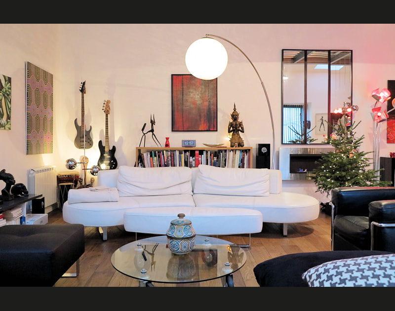 Une maison-loft chaleureuse et métissée