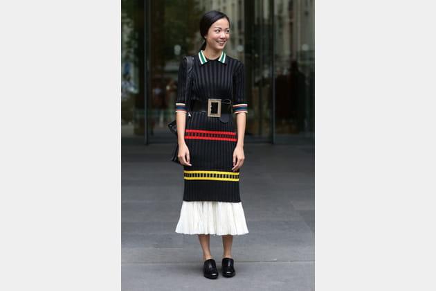 Street looks fashion week haute couture : linéaire