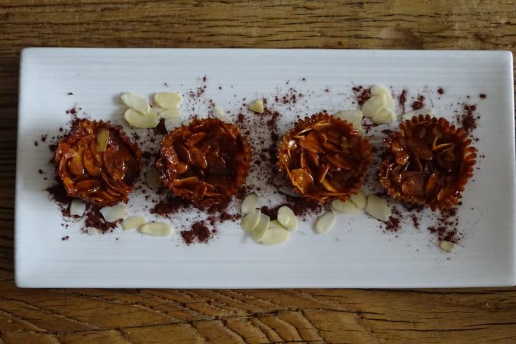 Florentins amandes et chocolat