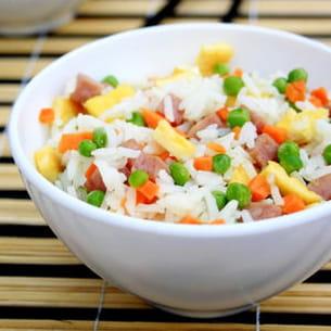 riz cantonais maison