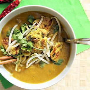 Soupe de butternut coco et au curry vert - Soupe butternut thermomix ...