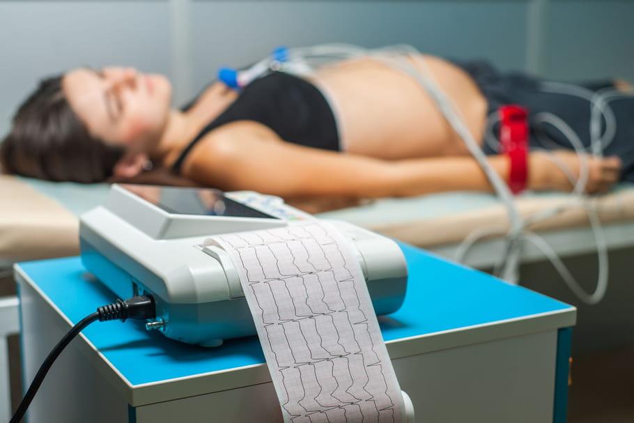 ECG: principes du test, interprétation d'un électrocardiogramme