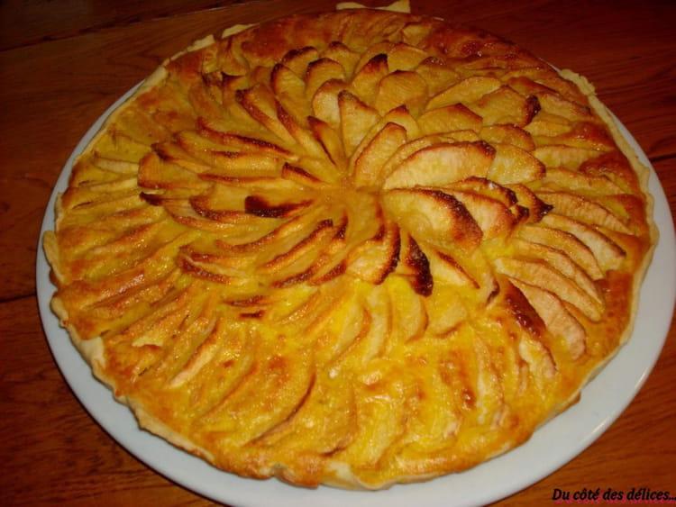 Recette de tarte aux pommes gourmande la recette facile - Dessin de tarte aux pommes ...