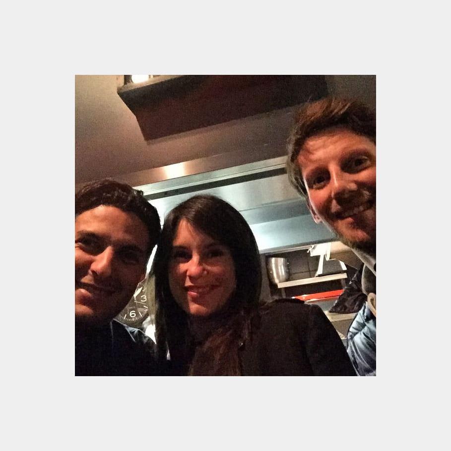 Akrame Benallal accueille Marion et Romain Grosjean