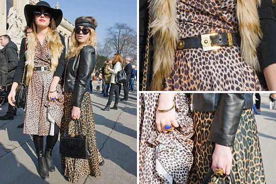 Fashion week : les street looks des défilés parisiens PAP automne-hiver 2011-2012 62