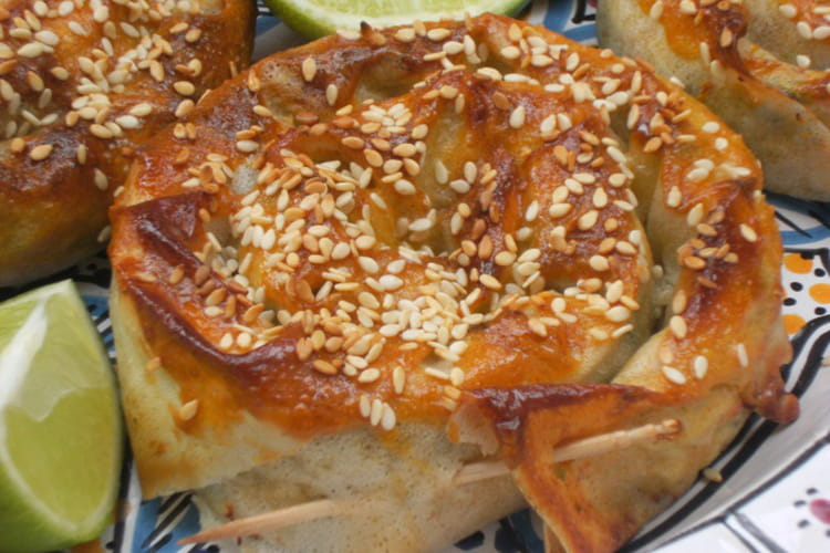 Mhanchettes croustillantes au poulet et béchamel