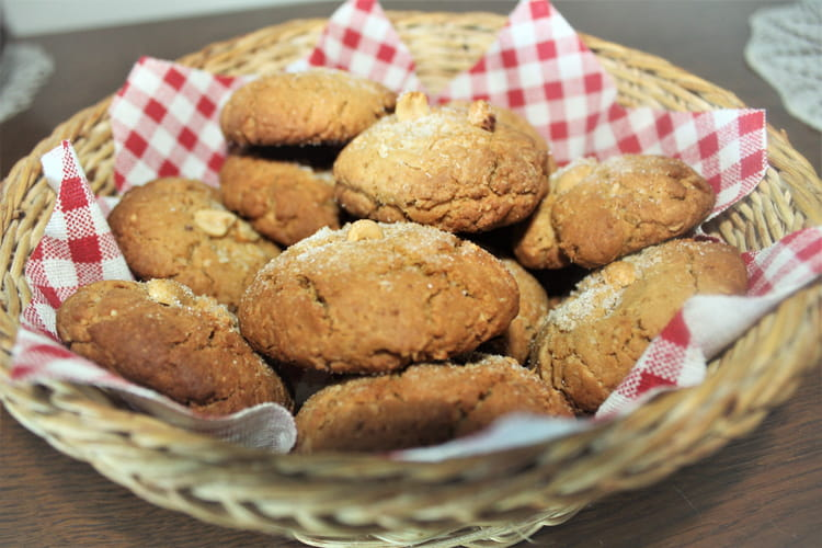 Cookies au beurre de cacahuète et noix coco