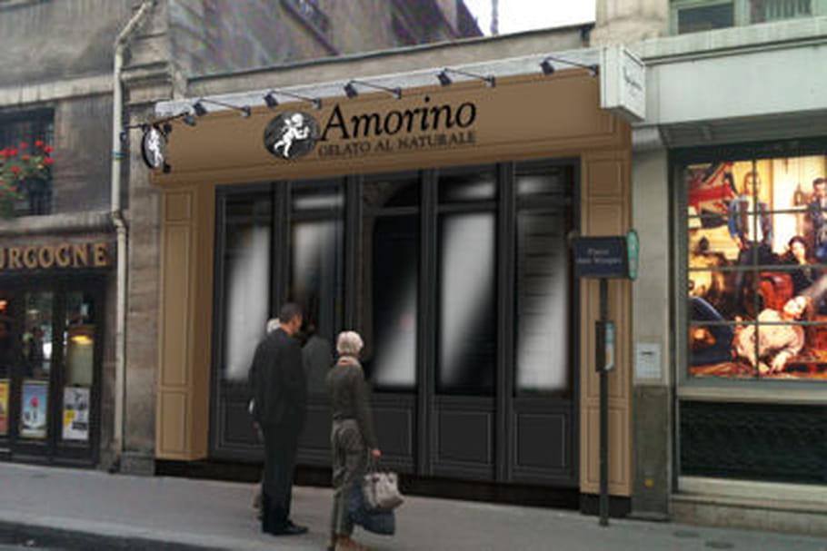 Amorino s'empare de la Place des Vosges