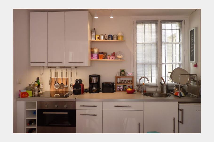 Cuisine ikea dans un petit espace for Elements cuisine petit espace