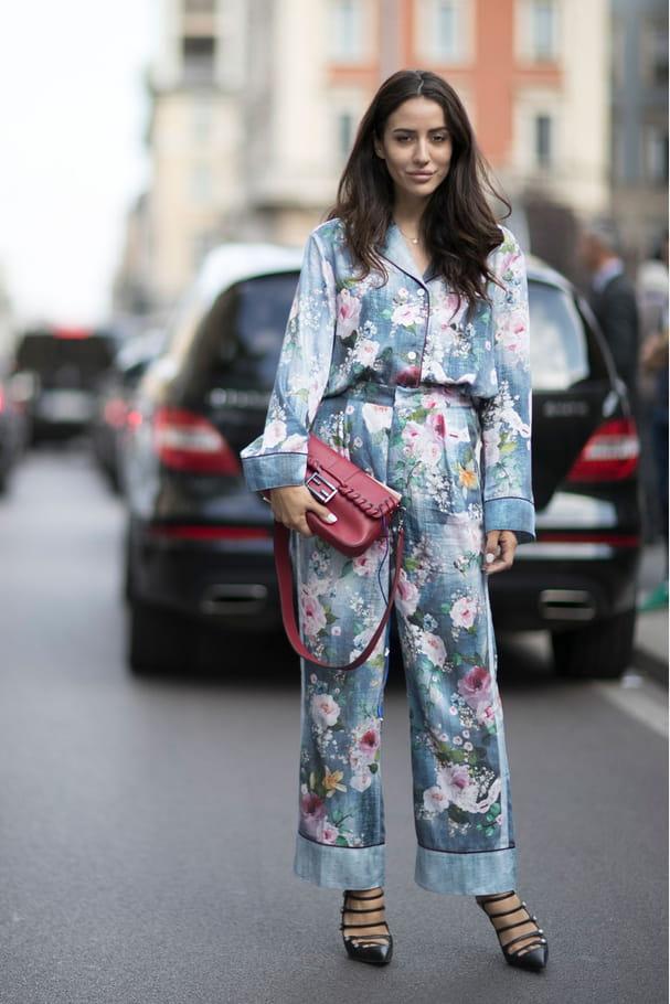 Le pyjama rétro