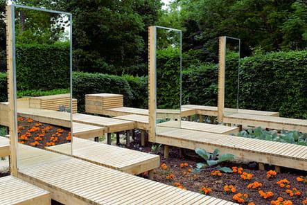 Le jardin Cinq pour un