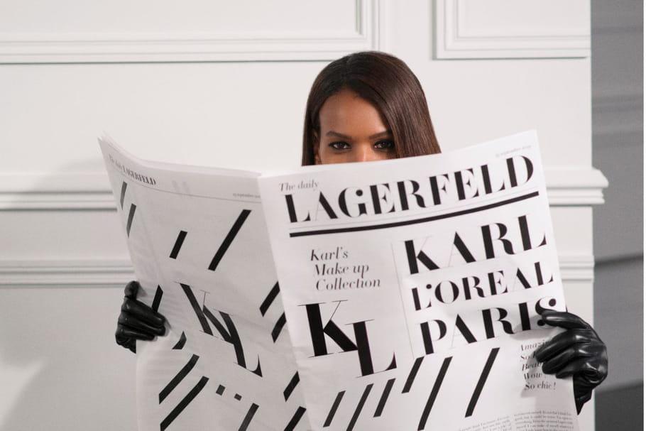 L'Oréal Paris et Karl Lagerfeld: une collab' maquillage inattendue