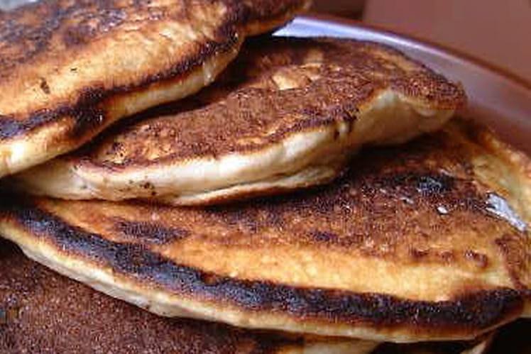 Pancakes aériens aux pépites de chocolat