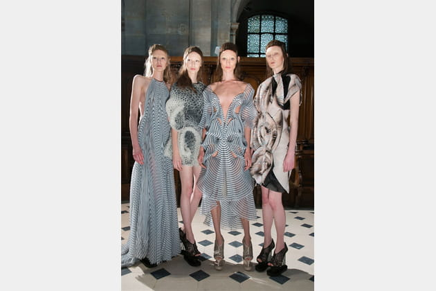 Iris Van Herpen (Backstage) - photo 15
