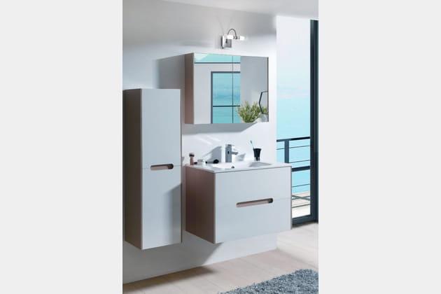 Ensemble meuble + vasque Altin chez Cocktail Scandinave